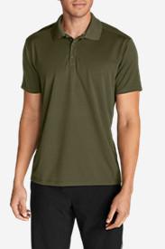 Men's Resolution Short-Sleeve Polo Shirt in Green