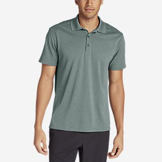 Men's Resolution Short-Sleeve Polo Shirt in Green