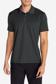 Men's Resolution Short-Sleeve Polo Shirt in Gray
