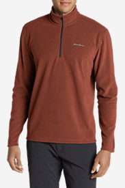 Men's Quest Fleece 1/4-Zip Pullover in Purple