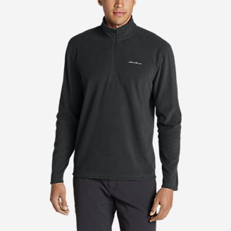 Men's Quest Fleece 1/4-Zip Pullover in Gray