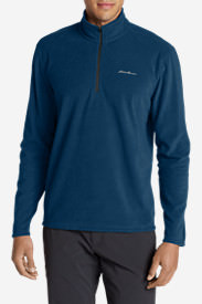 Men's Quest Fleece 1/4-Zip Pullover in Blue