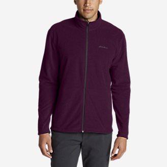 Men's Quest Fleece Full-Zip Jacket in Red
