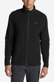 Men's Quest Fleece Full-Zip Jacket in Black