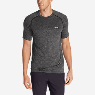 Men's Resolution Flux Short-Sleeve T-Shirt in Gray