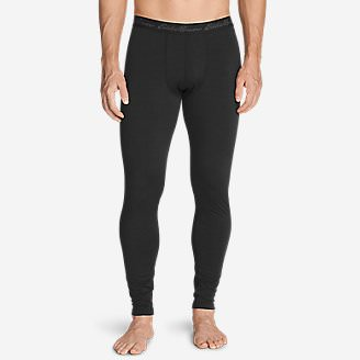 Men's Midweight FreeDry Merino Hybrid Baselayer Pants in Black