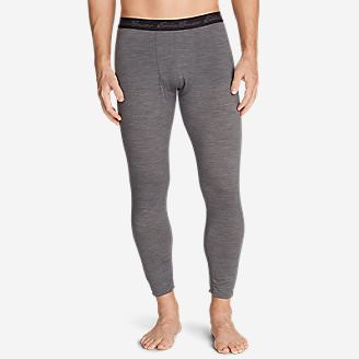 Men's Midweight FreeDry Merino Hybrid Baselayer Pants in Gray