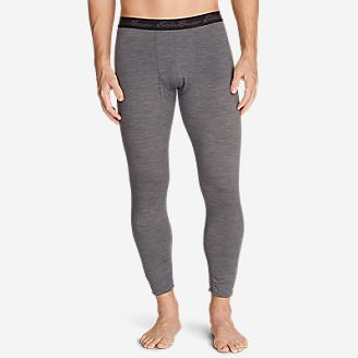 Men's Heavyweight FreeDry Merino Hybrid Baselayer Pants in Gray