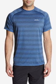 Men's Resolution Short-Sleeve T-Shirt - Stripe in Blue