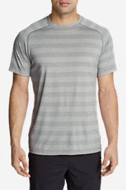 Men's Resolution Short-Sleeve T-Shirt - Stripe in Gray
