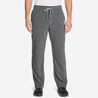 Men's Quest Fleece Pants in Gray