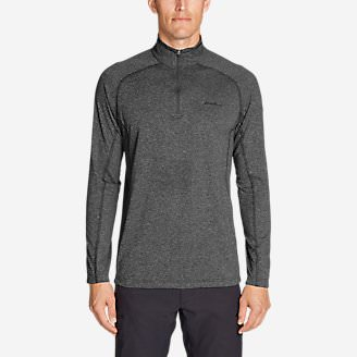 Men's Resolution Long-Sleeve ¼-Zip in Gray