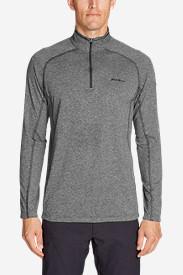 Men's Resolution Long-Sleeve ¼-Zip in Gray