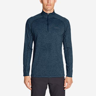 Men's Resolution Long-Sleeve 1/4-Zip in Blue