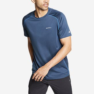 Men's TrailCool Short-Sleeve T-Shirt in Blue