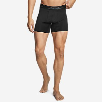 Men's TrailCool Boxer Brief in Black