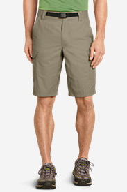 Men's Exploration Cargo Shorts in Beige