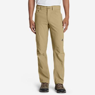 Men's Lined Guide Pants in Brown