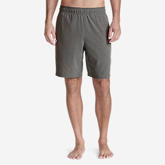 Men's Meridian Pro 9' Shorts w/ Compression Liner in Gray
