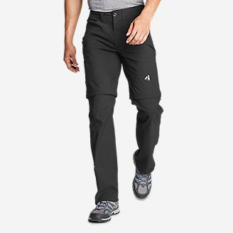 Men's Guide Pro Convertible Pants in Black
