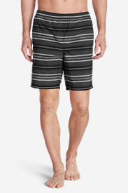 Men's Tidal II Shorts - Print in Black