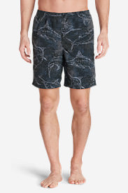 Men's Tidal II Shorts - Print in Gray