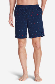Men's Tidal II Shorts - Print in Blue