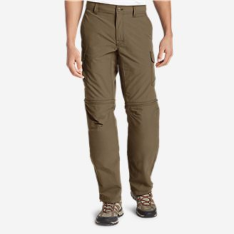 Men's Exploration 2.0 Convertible Pants in Brown