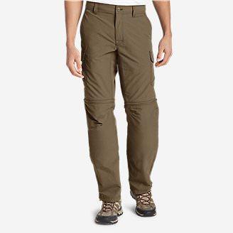 Men's Exploration 2.0 Convertible Pants in Brown