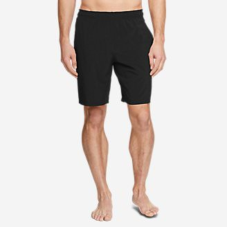 Men's Meridian Unlined Shorts - Solid in Black