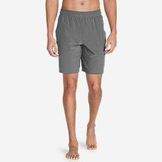 Men's Meridian Unlined Shorts - Solid in Gray