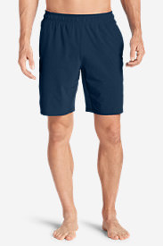 Men's Meridian Unlined Shorts - Solid in Blue