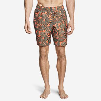 Men's Amphib Tidal Shorts - 8' in Orange