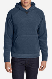Men's Forest Ridge Fleece Pullover Hoodie in Blue
