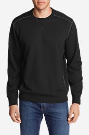 Men's Camp Fleece Crew Sweatshirt in Black