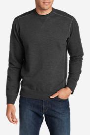 Men's Camp Fleece Crew Sweatshirt in Gray