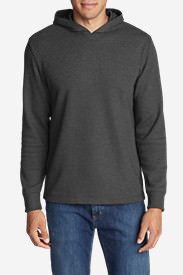 Men's Eddie's Favorite Thermal Hoodie in Gray