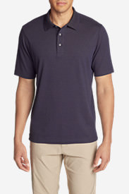 Men's Voyager 2.0 Short-Sleeve Polo Shirt - Classic Fit, Solid in Purple
