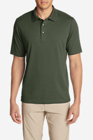 Men's Voyager 2.0 Short-Sleeve Polo Shirt - Classic Fit, Solid in Green