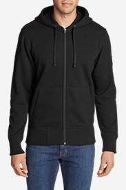 Men's Cascade Falls Full-Zip Hoodie in Black