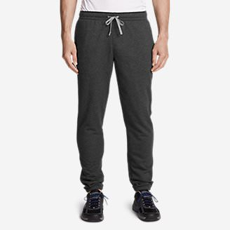 Men's Camp Fleece Jogger Pants in Gray