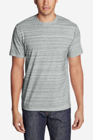 Men's Legend Wash Space-Dye Short-Sleeve T-Shirt in Gray