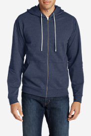 Men's Camp Fleece Full-Zip Hoodie in Blue