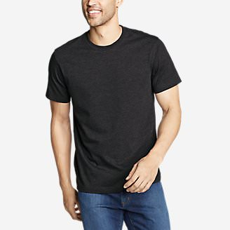 Men's Legend Wash Classic Pro Short-Sleeve T-Shirt in Black