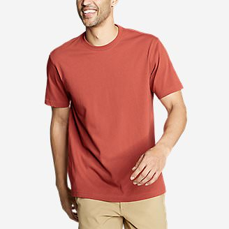 Men's Legend Wash Classic Pro Short-Sleeve T-Shirt in Orange