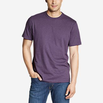 Men's Legend Wash Classic Pro Short-Sleeve T-Shirt in Purple
