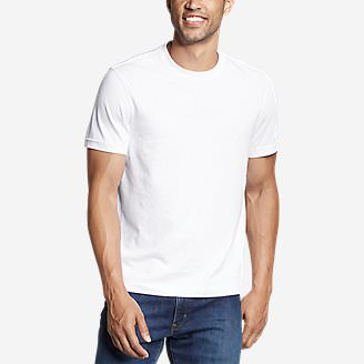 Men's Legend Wash Classic Pro Short-Sleeve T-Shirt in White