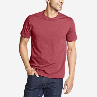 Men's Legend Wash Classic Pro Short-Sleeve T-Shirt in Red