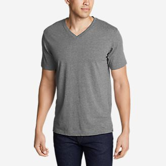 Men's Legend Wash Pro Short-Sleeve V-Neck T-Shirt in Gray
