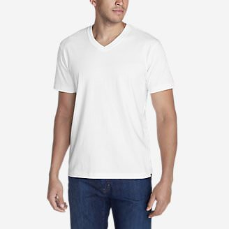 Men's Legend Wash Pro Short-Sleeve V-Neck T-Shirt in White